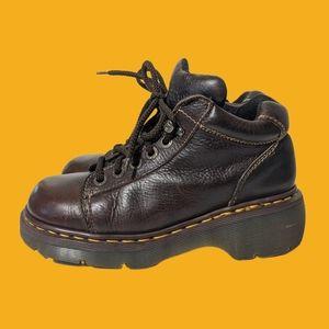 Vintage England Chunky Big Heel Dr Doc Martens
